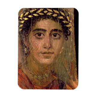 Portrait of a Woman, from Fayum, Romano-Egyptian, Magnet