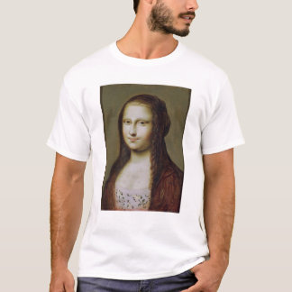 Portrait of a Woman Inspired by the Mona Lisa T-Shirt