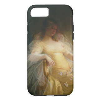 Portrait of a Woman (oil on canvas) iPhone 7 Case