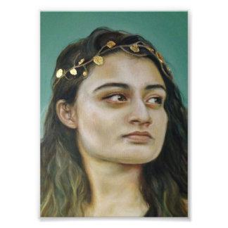 Portrait of a Woman Photo Print