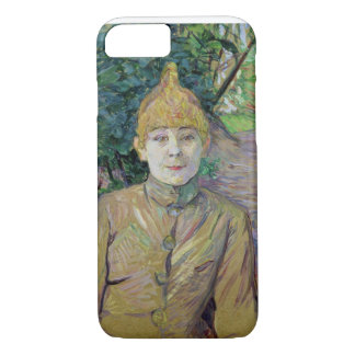 Portrait of a woman, possibly the French dancer Lo iPhone 7 Case