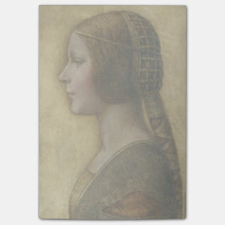Portrait of a Young Fiancee by Leonardo da Vinci Post-it Notes