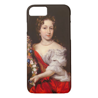 Portrait of a Young Lady (oil on canvas) iPhone 7 Case
