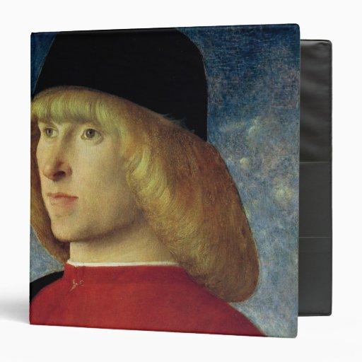 Portrait of a Young Senator, 1485-90 3 Ring Binders
