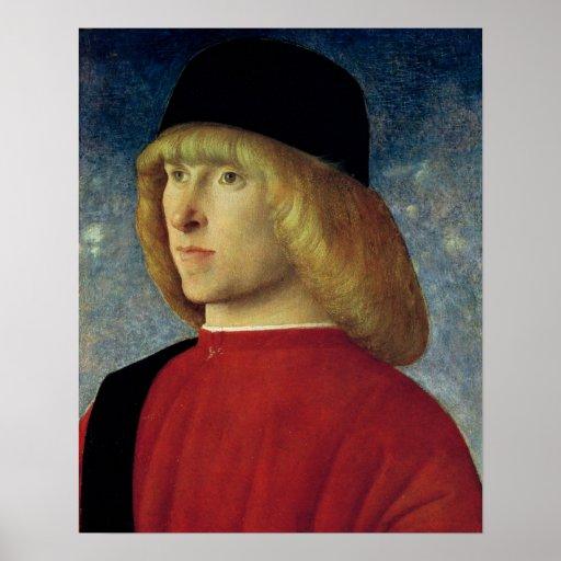Portrait of a Young Senator, 1485-90 Print