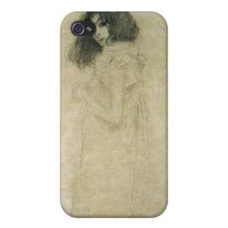 Portrait of a young woman, 1896-97 iPhone 4/4S covers