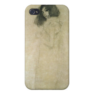 Portrait of a young woman, 1896-97 iPhone 4 case