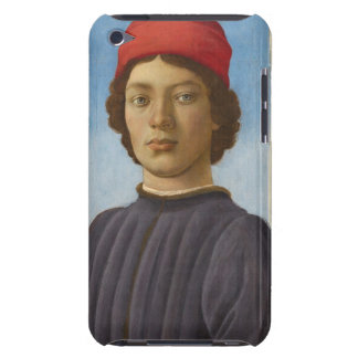 Portrait of a Youth, c.1485 (oil & tempera) Case-Mate iPod Touch Case