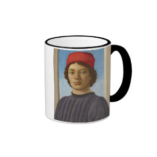 Portrait of a Youth, c.1485 (oil & tempera) Mugs