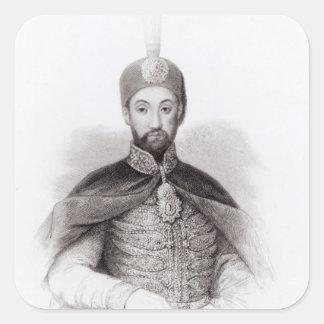 Portrait of Abdulmecit Sticker