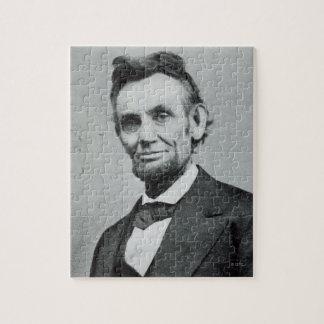Portrait of Abe Lincoln 1 Puzzle