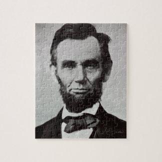 Portrait of Abe Lincoln 2 Puzzle