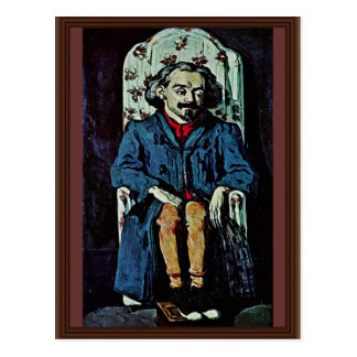 Portrait Of Achille Emperaire By Paul Cézanne Postcard