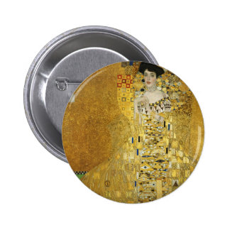 Portrait of Adele Bloch-Bauer I - Gustav Klimt Pin