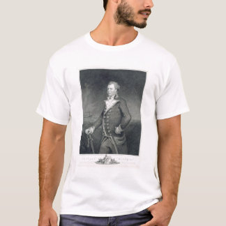 Portrait of Admiral John Macbride (d.1800) engrave T-Shirt