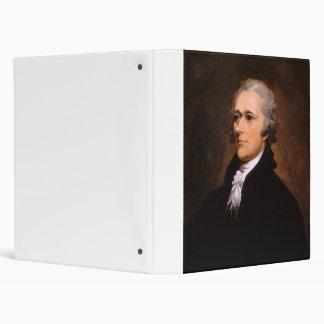 Portrait of Alexander Hamilton by John Trumbull Binders
