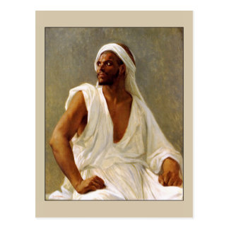 Portrait of an Arab by Cabanel Postcard