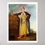 Portrait of an Armenian, 1771 (oil on canvas) Print