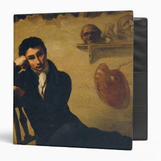 Portrait of an Artist in his Studio Vinyl Binders