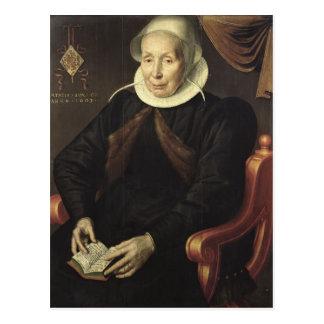 Portrait of an Elderly Woman, 1603 Postcard