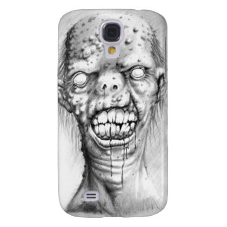 Portrait of an irradiated zombie with a cleft lip galaxy s4 cases