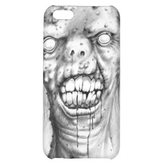 portrait of an irradiated zombie with a cleft lip iPhone 5C cover