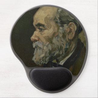 Portrait of an Old Man by Vincent Van Gogh Gel Mousepads