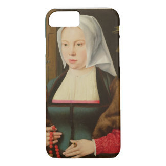 Portrait of an Unknown Lady, 1527 (oil on panel) iPhone 7 Case
