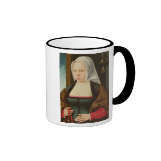 Portrait of an Unknown Lady, 1527 (oil on panel) Mugs