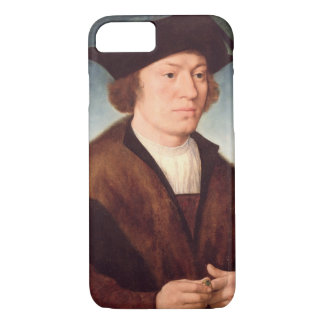 Portrait of an Unknown Man, 1520 (oil on panel) iPhone 7 Case
