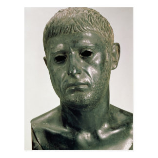 Portrait of an unknown Roman warrior, AD 30s Postcard