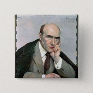 Portrait of Andre Gide  1924 2 Inch Square Button