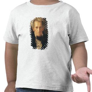 Portrait of Andrew Jackson T Shirts