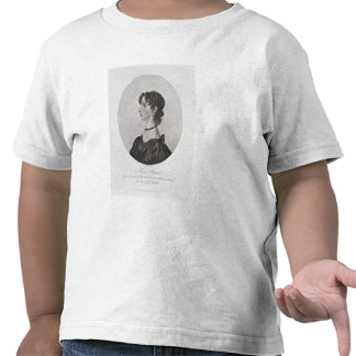 Portrait of Anne Bronte (1820-49) from a drawing i T-shirts
