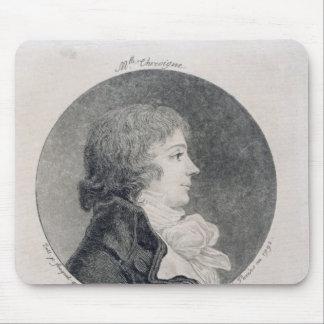 Portrait of Anne-Josephe Trewagne Mouse Pad