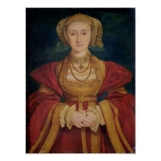Portrait of Anne of Cleves  1539 Poster