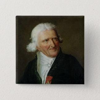 Portrait of Antoine Augustin Parmentier 2 Inch Square Button
