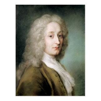 Portrait of Antoine Watteau Postcard
