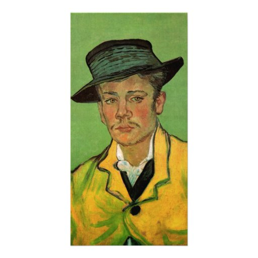 Portrait of Armand Roulin by Vincent van Gogh Picture Card
