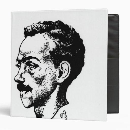 Portrait of Arthur Rimbaud Vinyl Binder