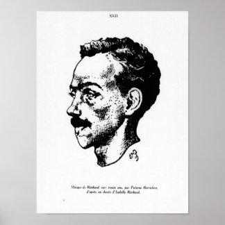 Portrait of Arthur Rimbaud Poster