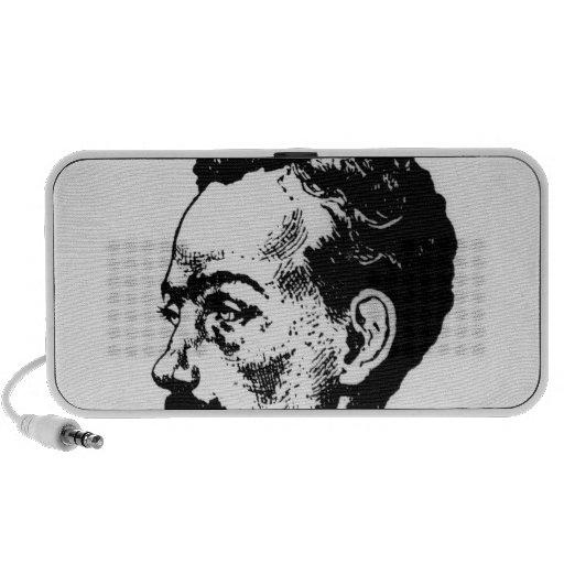 Portrait of Arthur Rimbaud iPhone Speaker