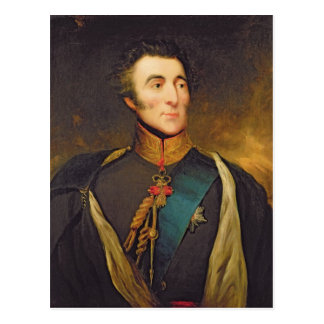 Portrait of Arthur Wellesley Postcard