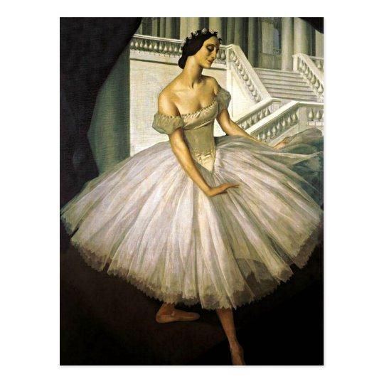 Portrait of Ballerina Anna Pavolva Postcard