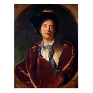 Portrait of Bernard le Bovier de Fontenelle Postcard