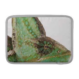 Portrait of boldly colored Yemen chameleon MacBook Sleeve