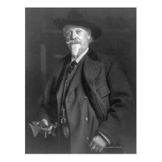"Portrait of ""Buffalo Bill"" Cody Postcard"