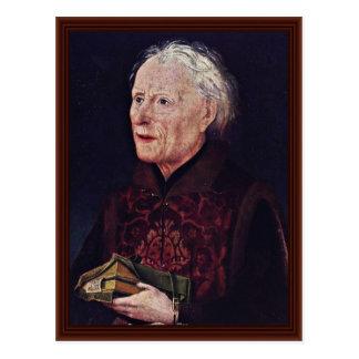 Portrait Of Canon Georg Graf Von Lowenstein Postcard