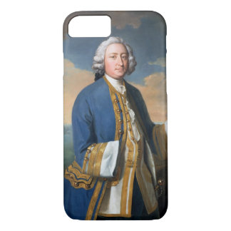 Portrait of Captain David Brodie (1709-87) Holding iPhone 7 Case