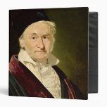 Portrait of Carl Friedrich Gauss, 1840 Binders